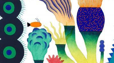 La visual identity della BCBF realizzata da Jean Mallard